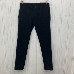 🎄3/$20 ZARA MAN BASIC COLLECTION BLACK PANTS 32